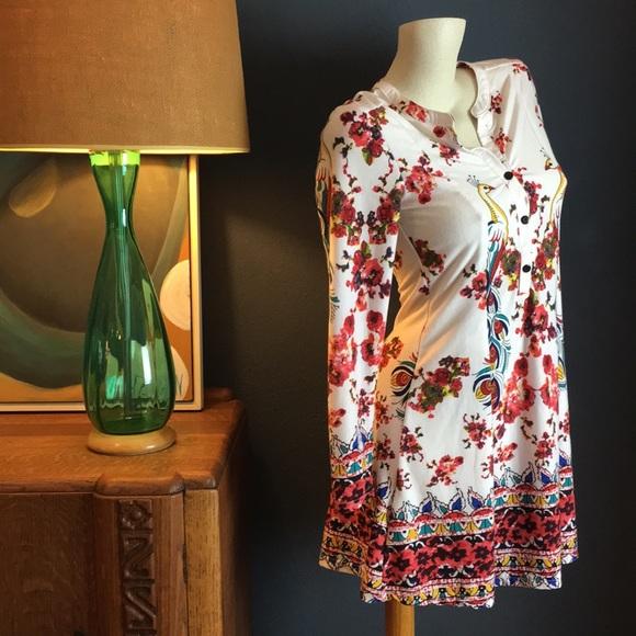 Reborn Dresses & Skirts - Floral Peacock Dress